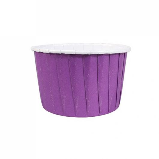Капсулы капкейк 100 шт фиолетовый
