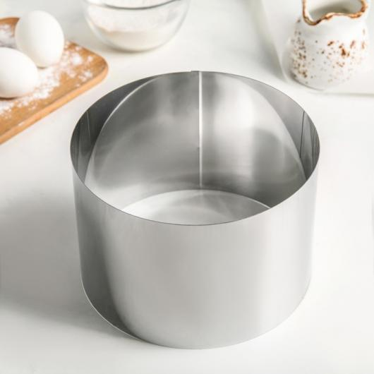 Форма для выкладки и выпечки h12 см d20 см
