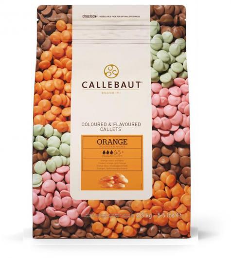 Callebaut Шоколад апельсин 2,5 кг
