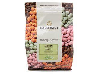 Callebaut Шоколад лимон в галлетах 2,5 кг