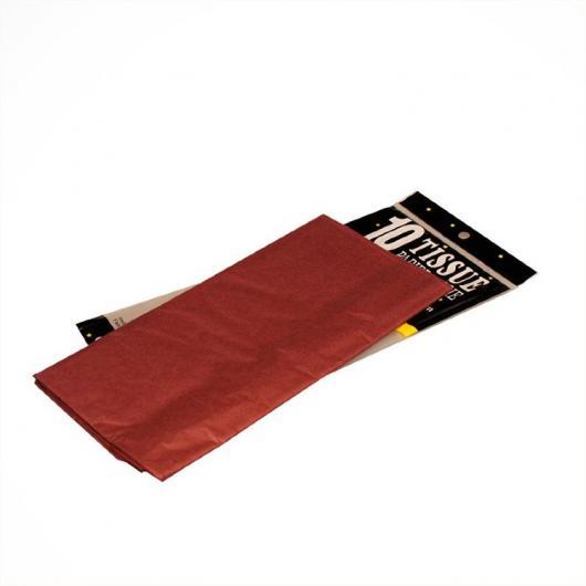 Бумага Тишью бордовый 51*66 см 10 листов
