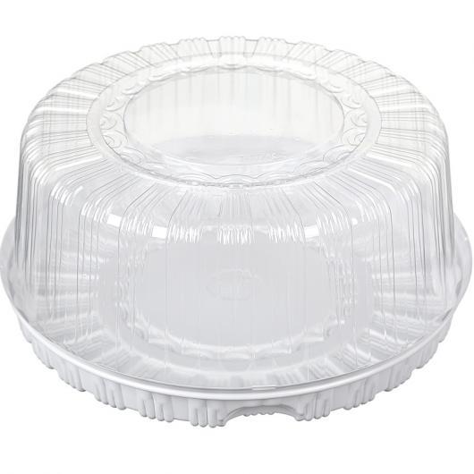 Коробка пластиковая для торта 23,5 см