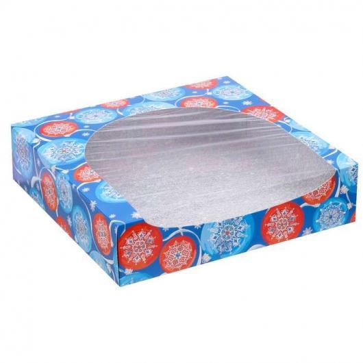 Коробка для кондитерских изделий «Хорошего настроения», 20 × 20 × 5 см