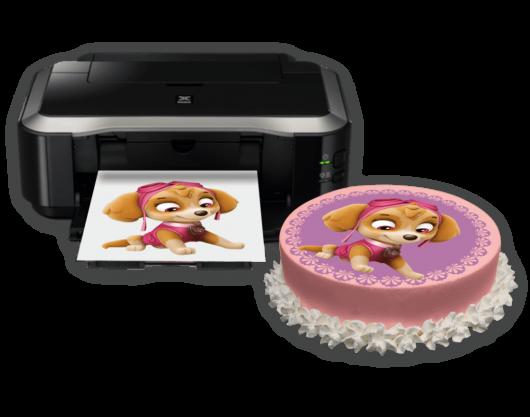 А4 печать вафельная бумага