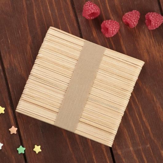 Палочки деревянные для мороженого 48-50 шт, 11,5×1,1 см