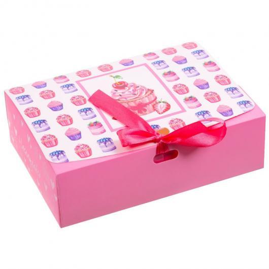 Коробка подарочная «Наслаждайся», 16.5 × 12.5 × 5 см