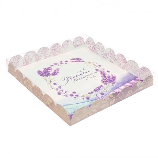 Коробка «Хорошего настроения!», 21 х 21 х 3 см
