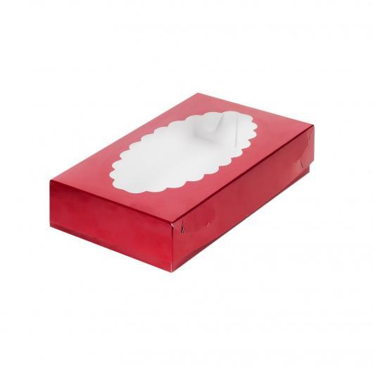 Коробка для эклеров 24*14*5 см Chery