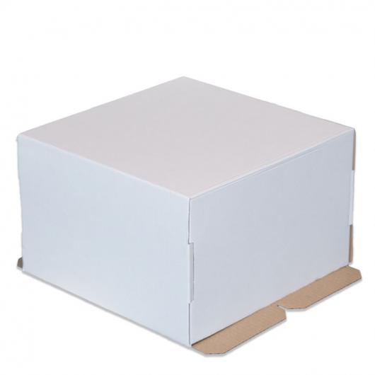 Коробка для торта 30 см*30 см*19 см (2 категория)