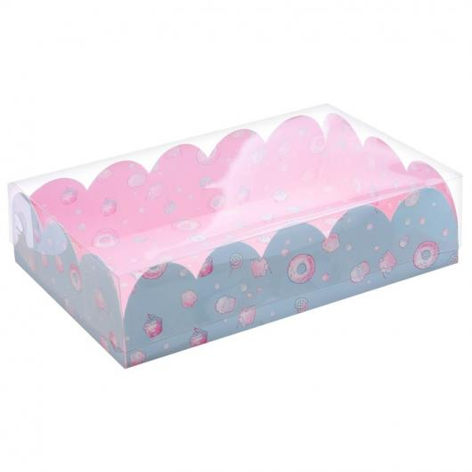 Коробка подарочная с PVC крышкой «Маленький сюрприз», 20 × 30 × 8 см