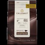Callebaut Шоколад темный в галлетах 54,5% 2,5 кг