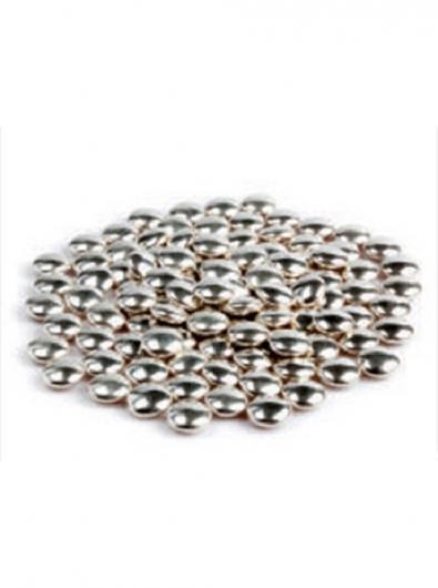 Украшение шок серебрянное конфетти 0,05 кг