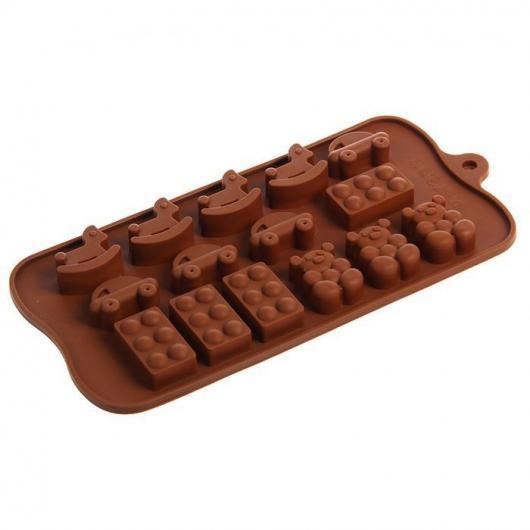 Форма для льда и шоколада 21х11х1,5 см